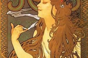 """Alfons Mucha, """"Job"""" – 1896"""